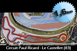 Circuit Paul Ricard Driving Center 1,6 km