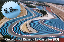 Circuit Paul Ricard High Tech 5,8 km